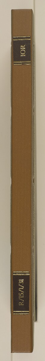 Vol 33 Miscellaneous letters inward and outward [spine] (3/48)