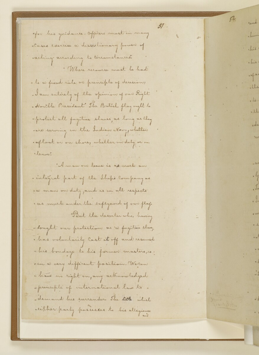 Duplicate letter no.5078 of 1855 from Henry Anderson, Secretary to the Government of Bombay, to Commander Felix Jones, Acting Resident in the Persian Gulf [34v] (8/14)