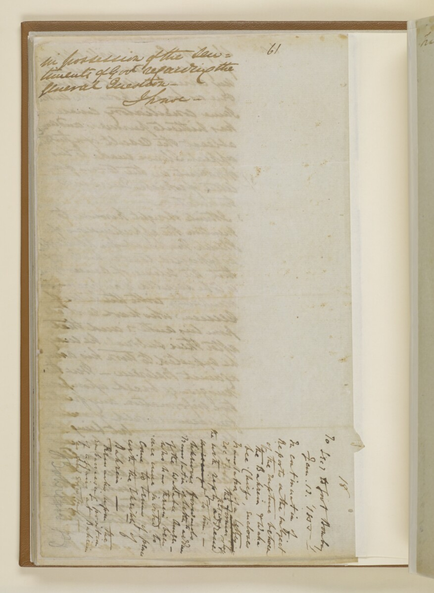 Letter no.18 of 1855 from Captain Arnold Kemball, Resident in the Persian Gulf, to Henry Anderson, Secretary to the Government of Bombay [41v] (3/9)
