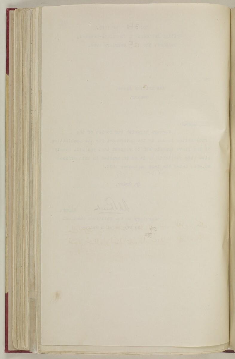 'File 5/187 I – Proclamation prohibiting slave trade' [111v] (234/327)