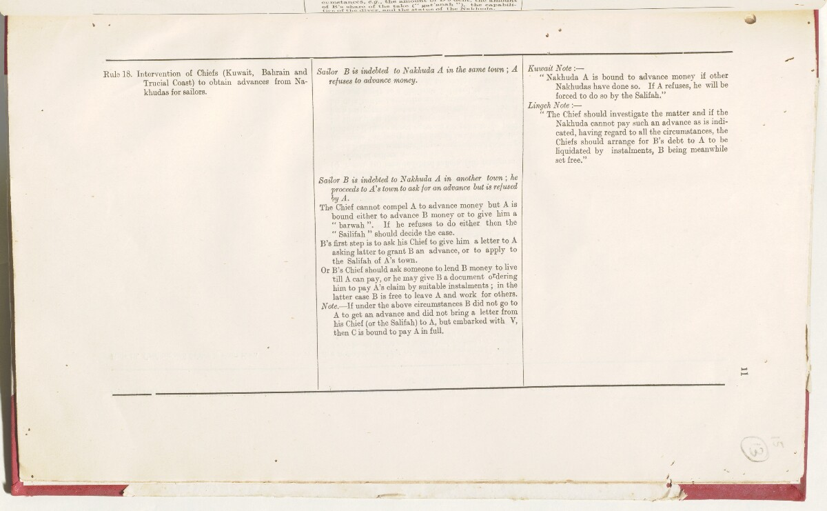 'File 5/201 Manumission of slaves and rules relating to cases arising out of the pearling industry' [15r] (36/50)