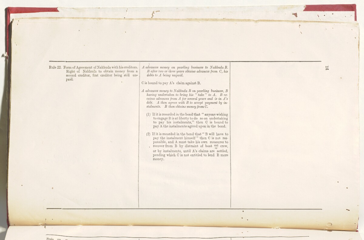 'File 5/201 Manumission of slaves and rules relating to cases arising out of the pearling industry' [16v] (39/50)