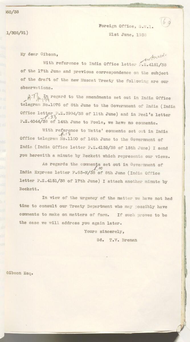 'Muscat Treaty' [60r] (134/537)