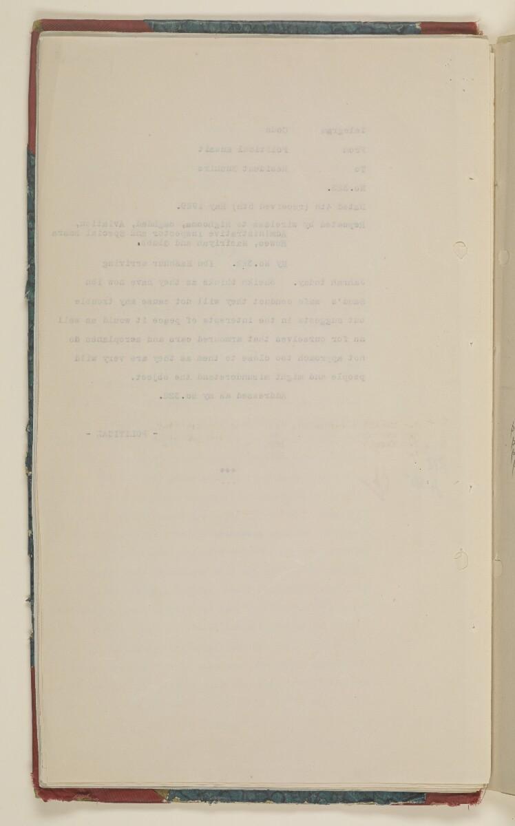 'File 61/14 IX (D 56) Relations between Nejd and Iraq' [10v] (26/700)
