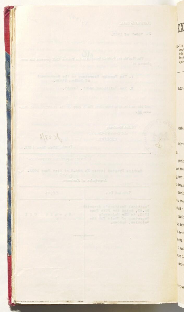 'D 93 KUWAIT OIL A.P.O.C. (82/1 VI) and E. & G.S. (86/1 IV)' [229v] (485/526)