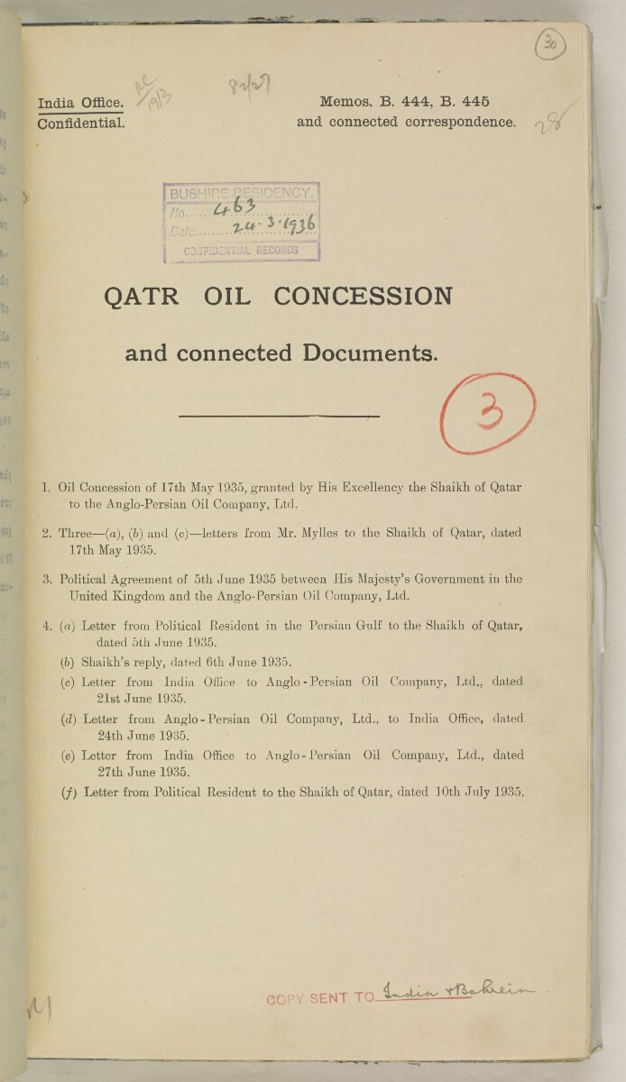 'File 82/27 VIII F 91 QATAR OIL' [‎30r] (68/468)