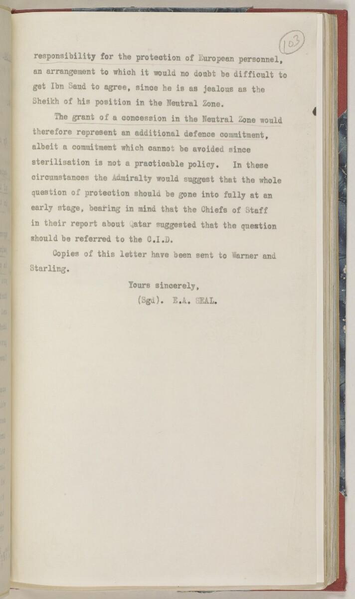 'File 86/1 VI (D 97) Kuwait Oil' [103r] (226/486)