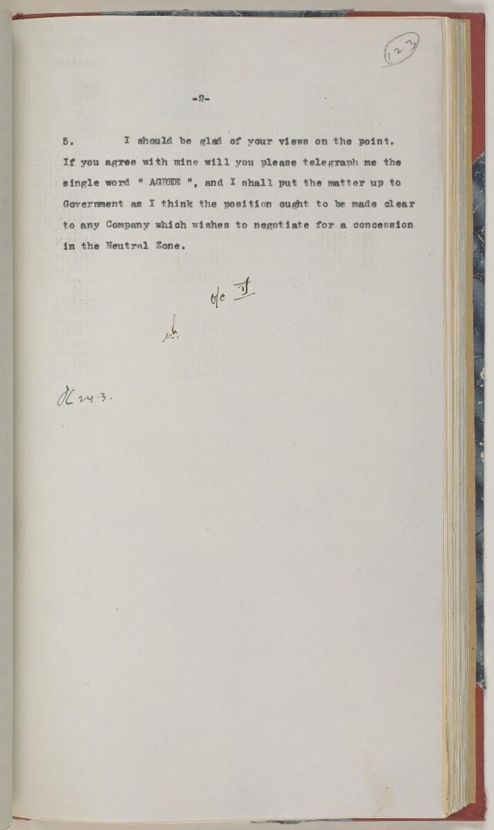 'File 86/1 VI (D 97) Kuwait Oil' [123r] (266/486)