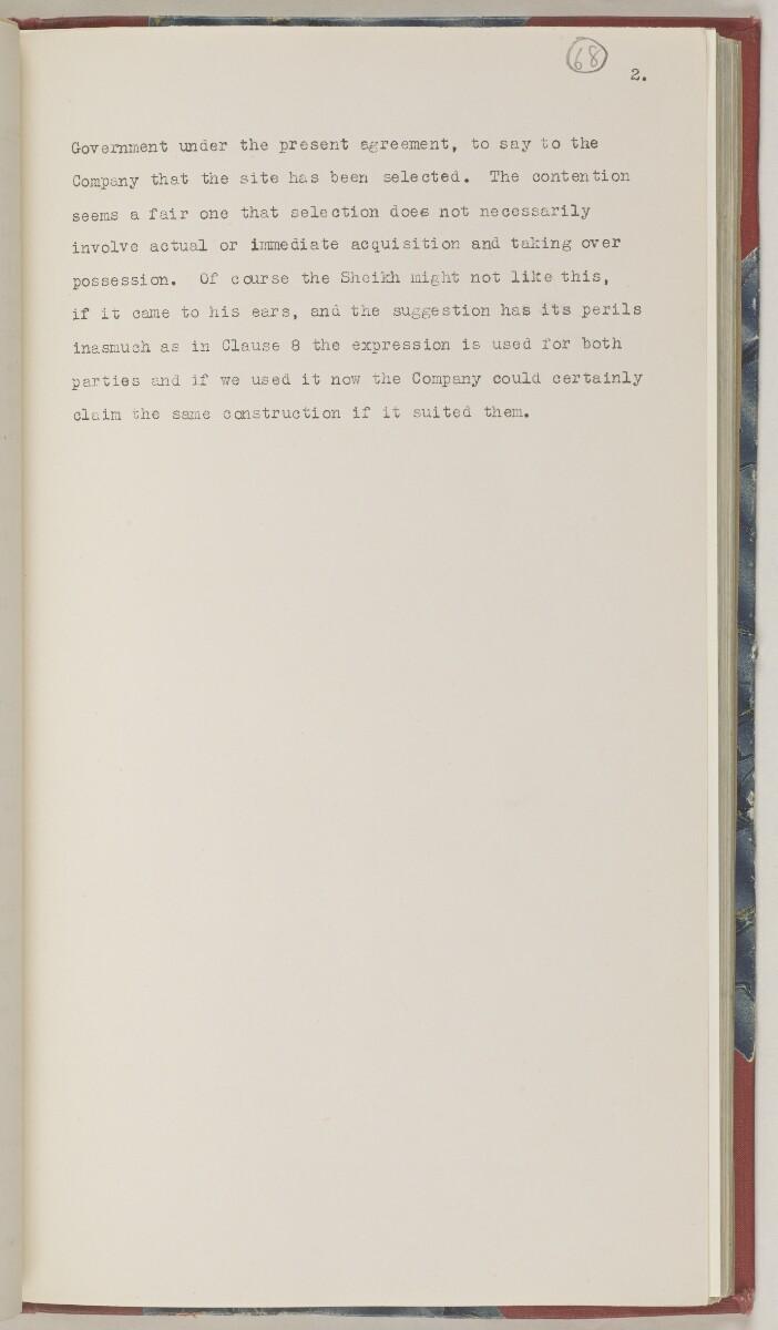 'File 86/1 VII (D 101) Kuwait Oil' [68r] (150/506)