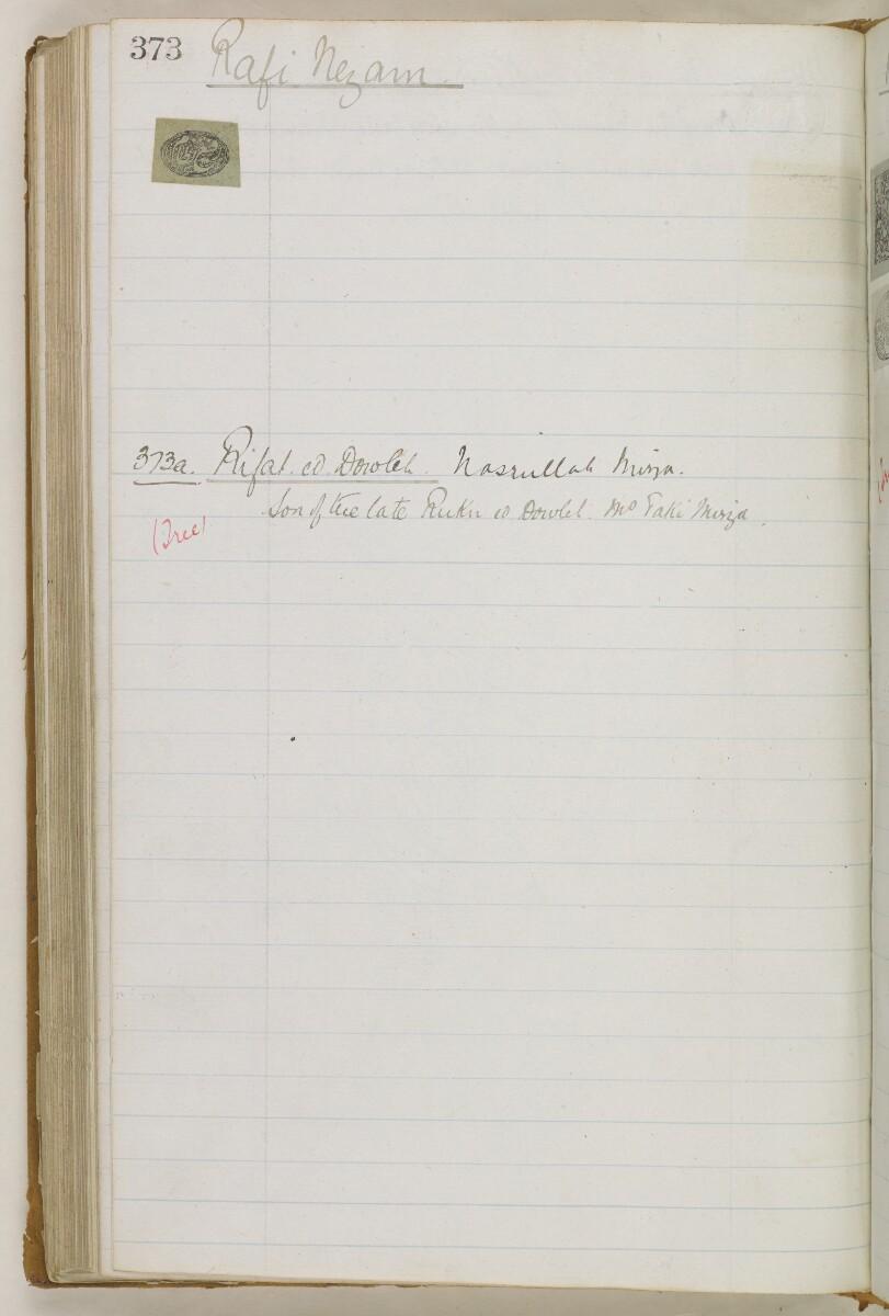 'Biographical Notes' [240v] (486/611)