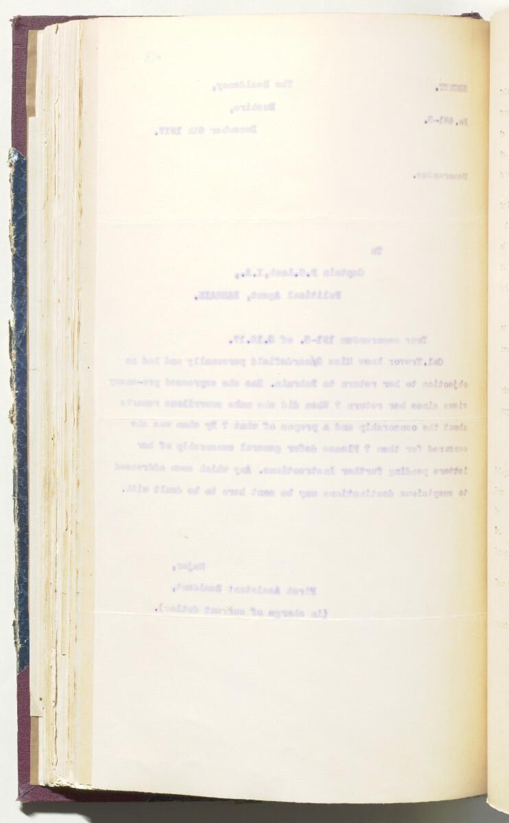 'File H/13 Arabian Mission' [137v] (291/430)