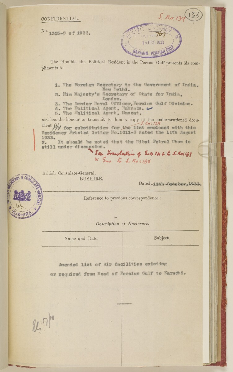 'File 7/2 I Landing grounds and seaplane anchorages' [133r] (278/468)
