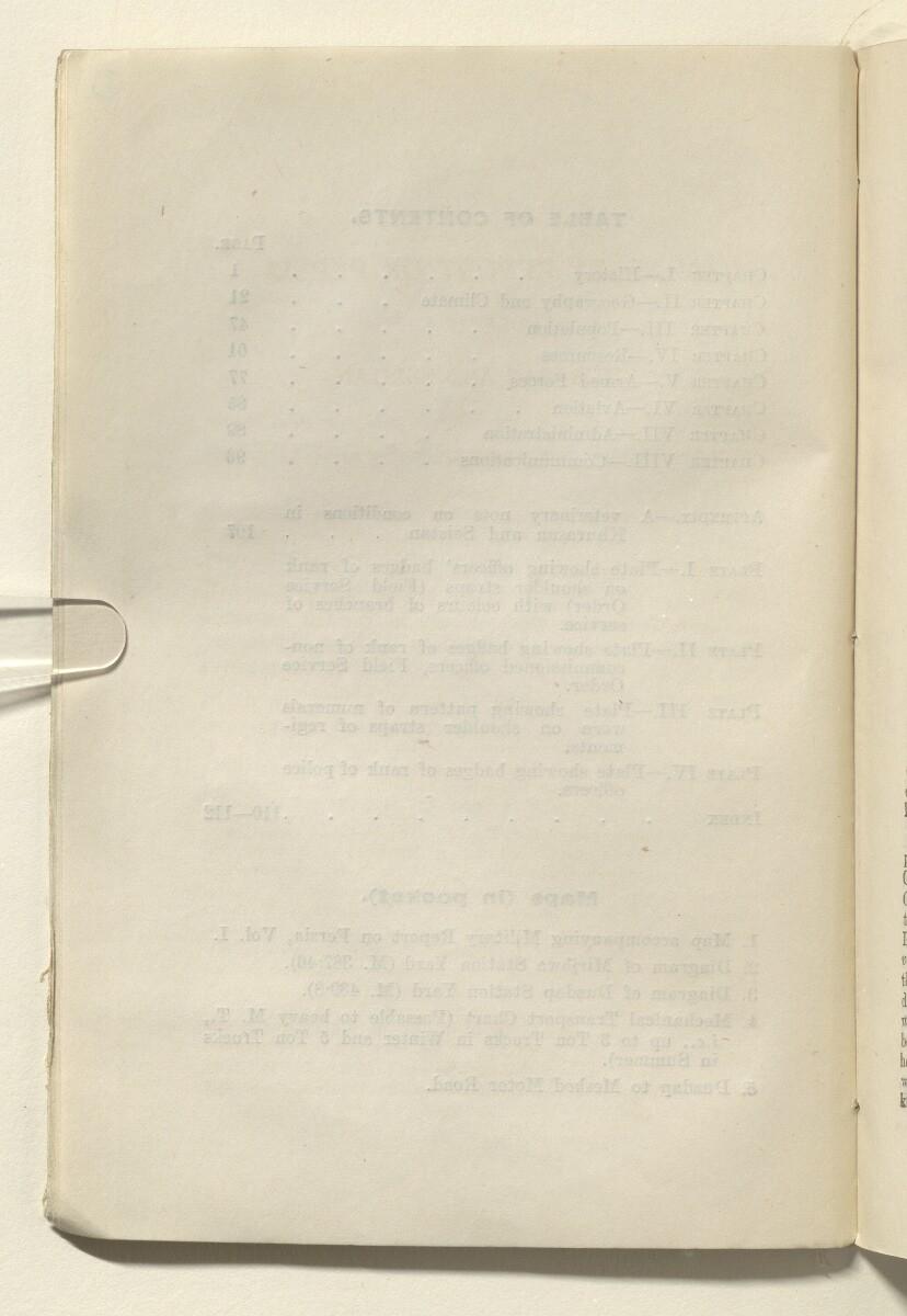 'Military report on Persia Volume I 1930' [6v] (17/154)