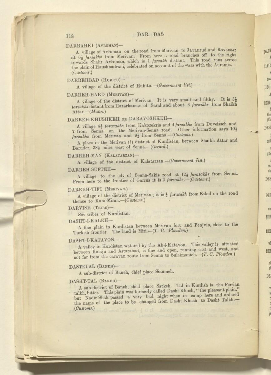 'Report on Kurdistan' [65v] (135/220)