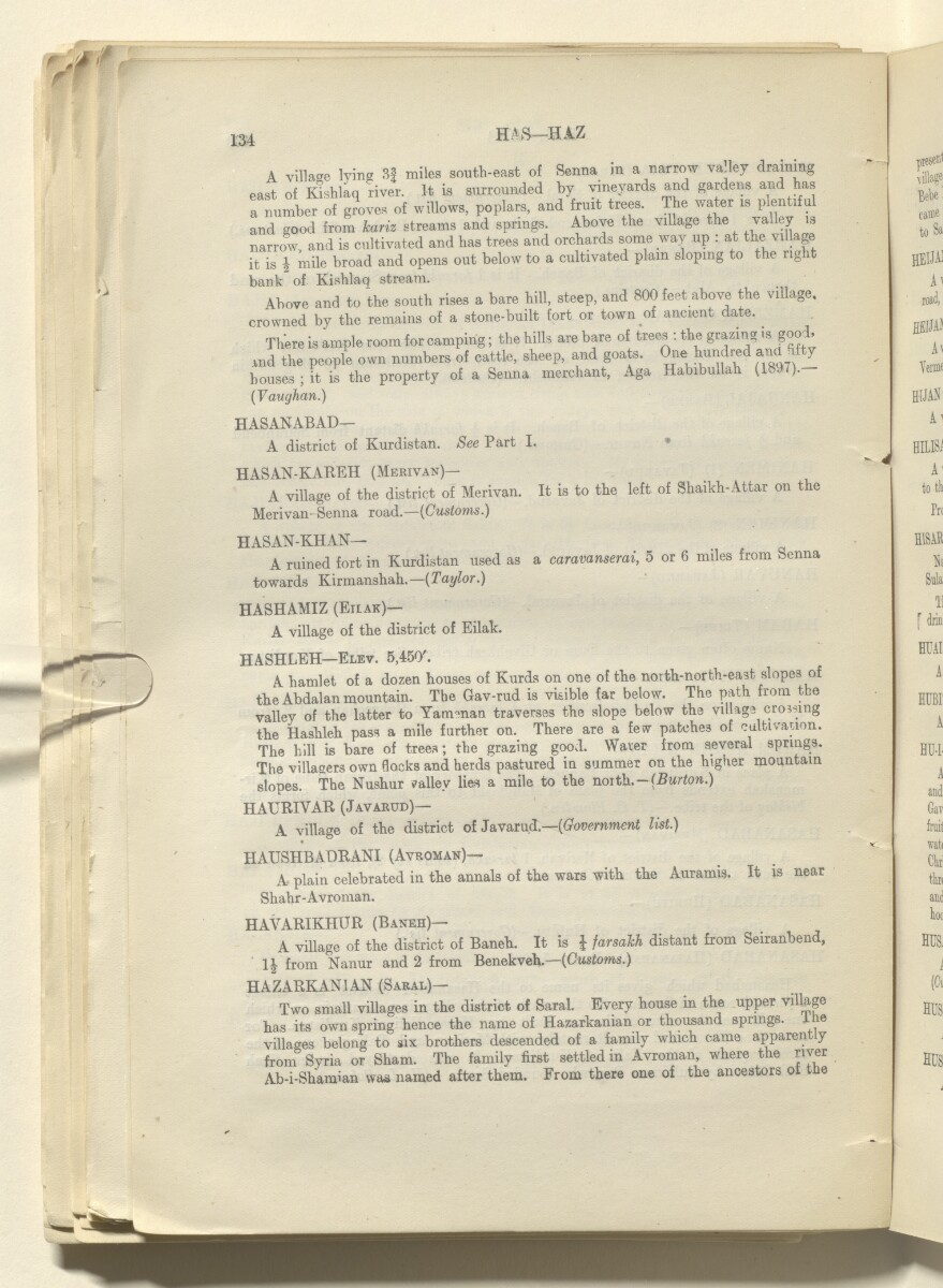 'Report on Kurdistan' [73v] (151/220)