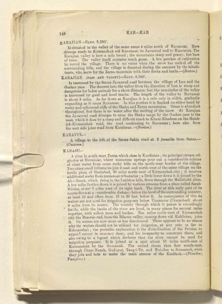 'Report on Kurdistan' [80v] (165/220)