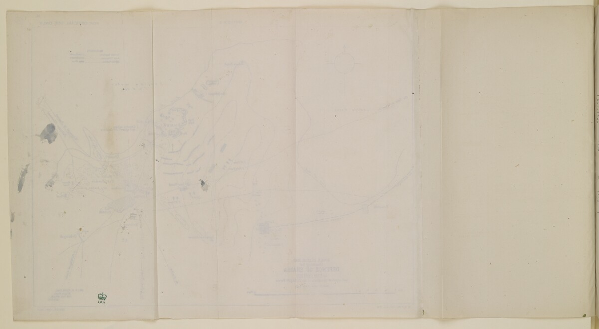 Report on the Operations in the Vicinity of Shaiba 12th-14th April 1915. Simla: General Staff India, 1915. [14a] (24/70)