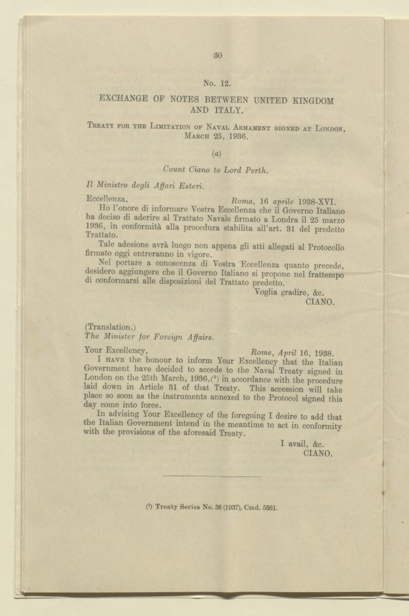 File 253 Agreement Between Uk And Italy 18v 3650 Qatar