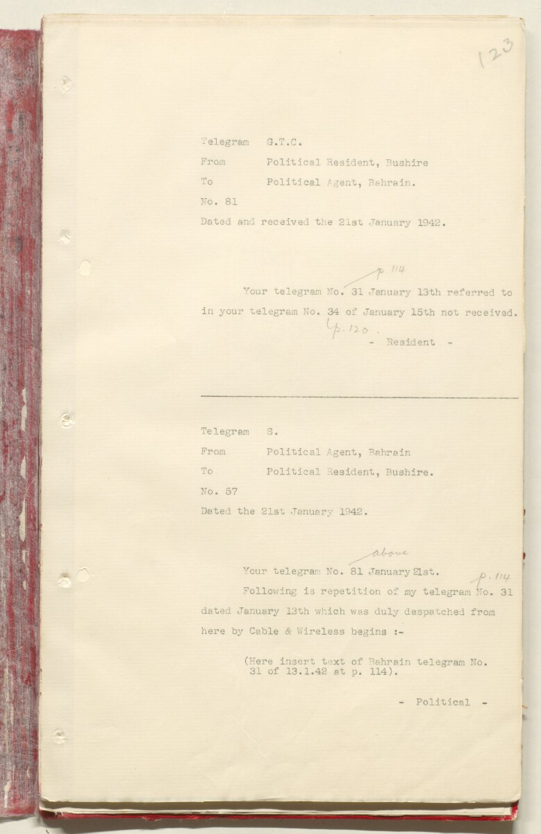 'File 7/2 VI Landing grounds and seaplane anchorages' [‎123r] (264/618)