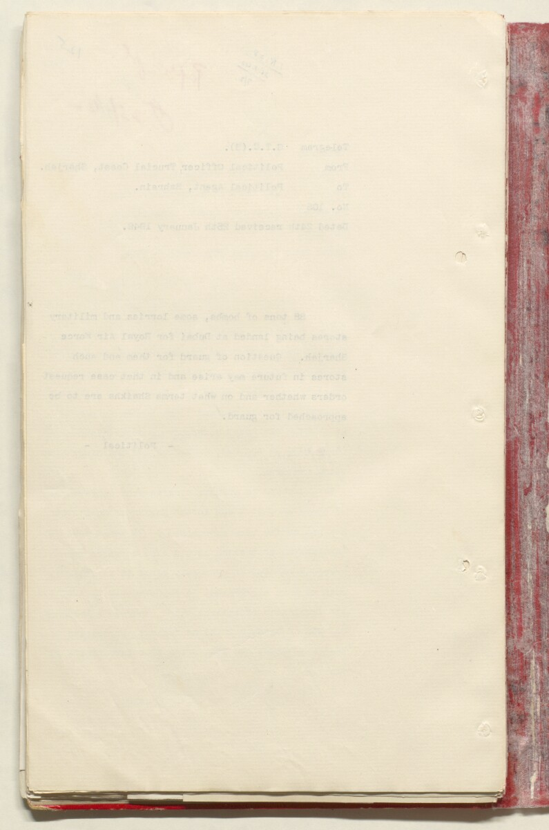 'File 7/2 VI Landing grounds and seaplane anchorages' [125v] (269/618)
