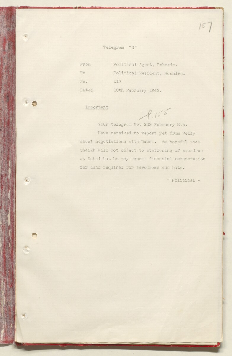 'File 7/2 VI Landing grounds and seaplane anchorages' [‎157r] (334/618)