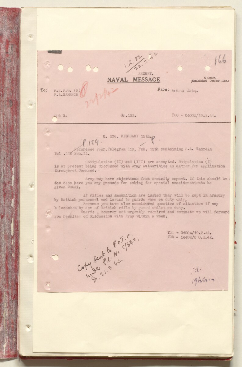 'File 7/2 VI Landing grounds and seaplane anchorages' [166r] (352/618)