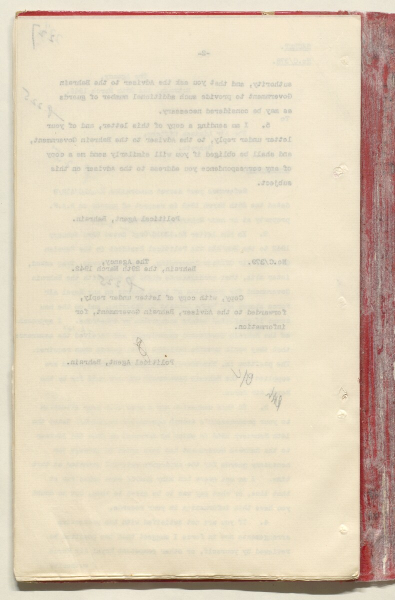 'File 7/2 VI Landing grounds and seaplane anchorages' [227v] (475/618)