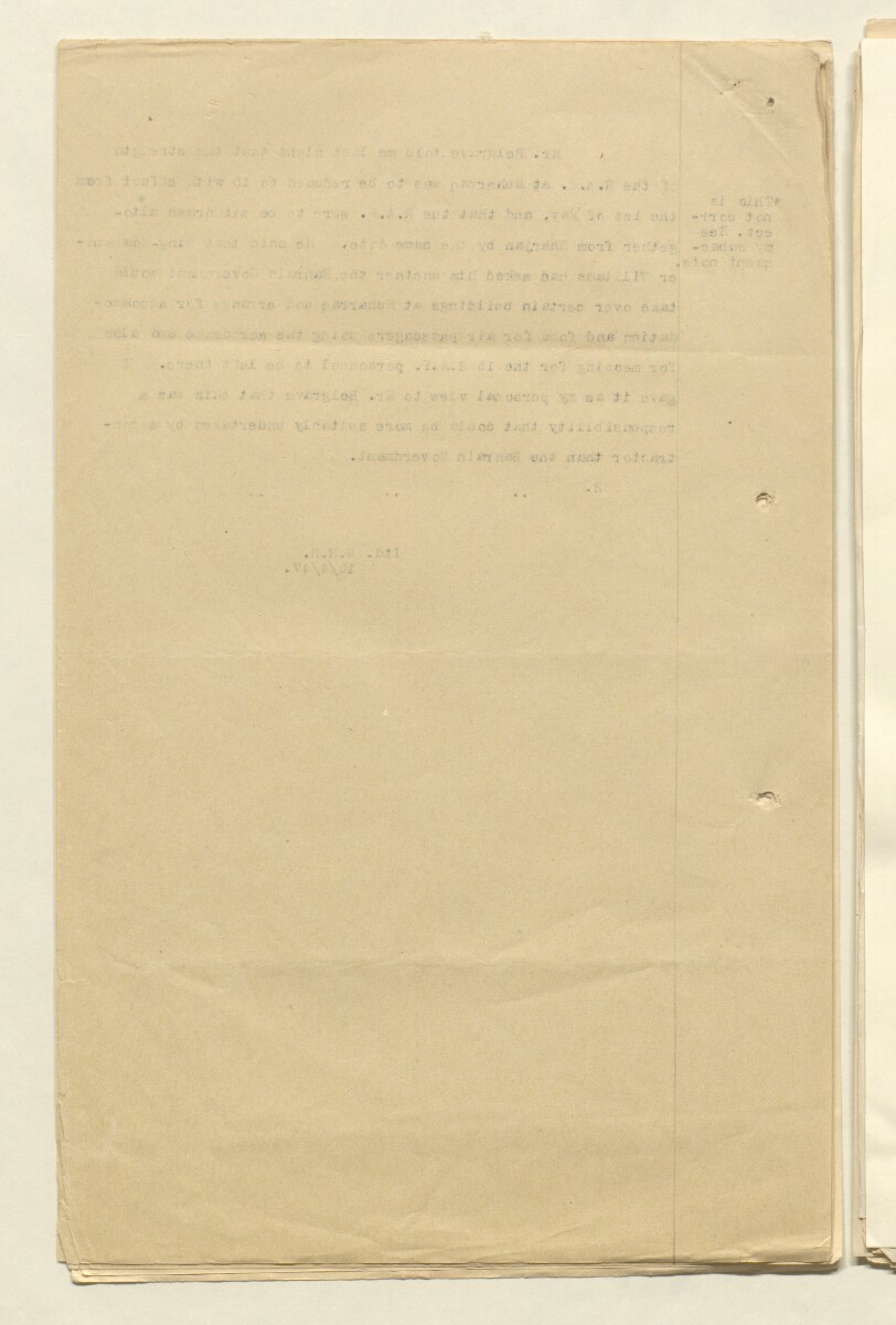 'File 7/27 Closing down of Royal Air Force station, Muharraq in 1947 and arrangements for maintaining and servicing Muharraq aerodrome' [‎5v] (14/40)