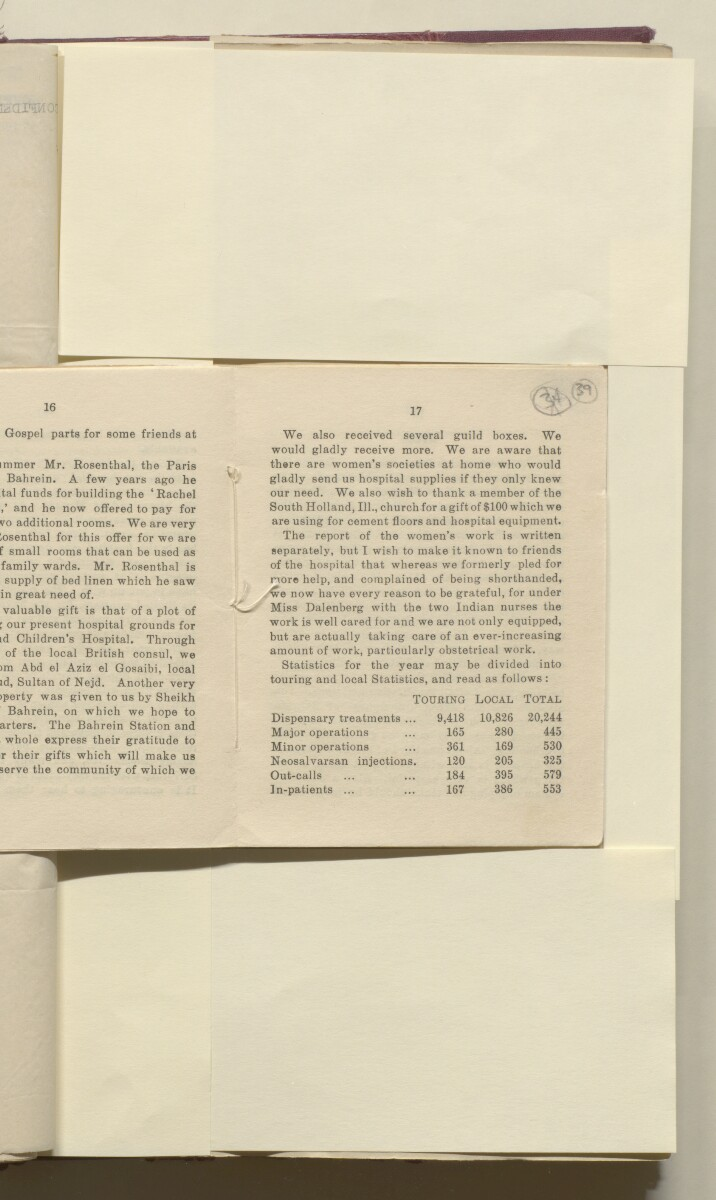 'File 8/8 Agency Administration Report 1922-1930' [39r] (82/474)