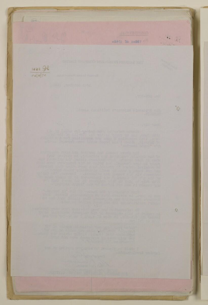 'File 37/2 (12/9 A) Duke of Gloucester's visit and presentation of Italian guns to Shaikh of Bahrain' [57v] (114/236)