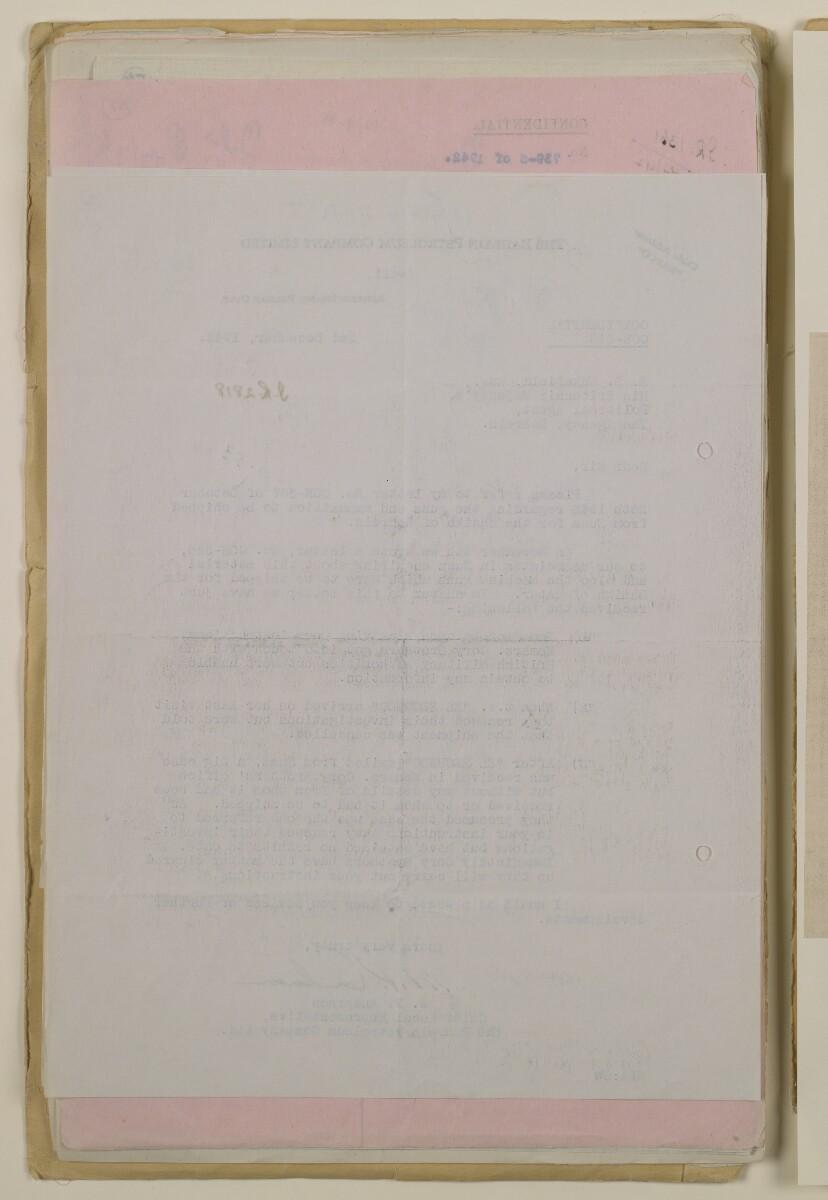 'File 37/2 (12/9 A) Duke of Gloucester's visit and presentation of Italian guns to Shaikh of Bahrain' [58v] (116/236)