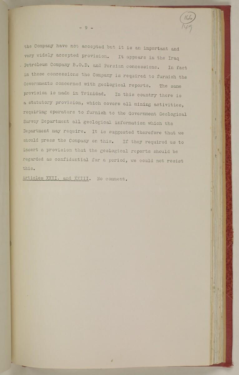 File 10/1 VIII Bahrain Oil Concession [166r] (359/555)