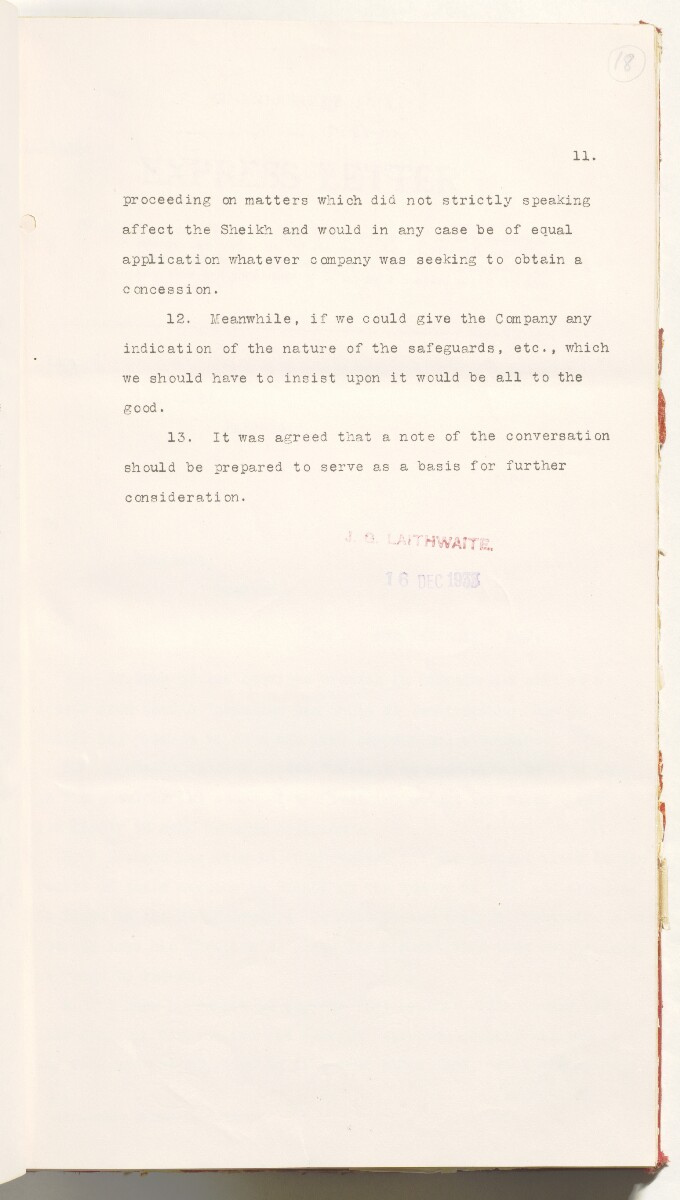 'File 10/3 III Qatar Oil Concession' [‎18r] (48/470)