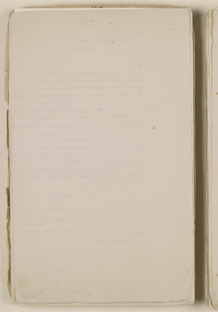 'File 1/28 Superintendent, Political Agency, Bahrain' [6v] (14/868)