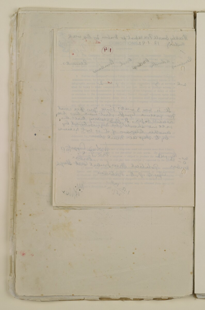 'File 2/14 Outbreaks of smallpox, cholera and other diseases on the Trucial Coast' [‎288v] (576/808)
