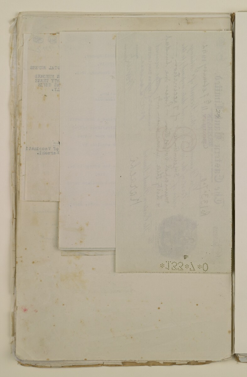'File 2/14 Outbreaks of smallpox, cholera and other diseases on the Trucial Coast' [296v] (592/808)