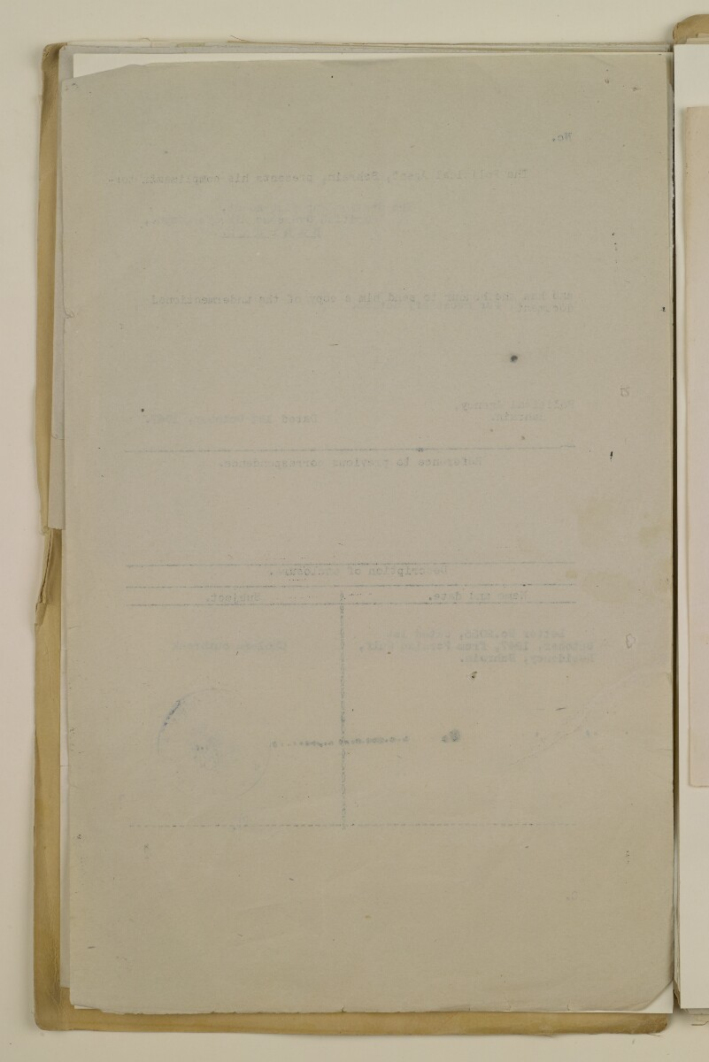 'File 2/14 II Epidemics (in places other than Bahrain) Cholera, Smallpox etc' [137v] (274/358)