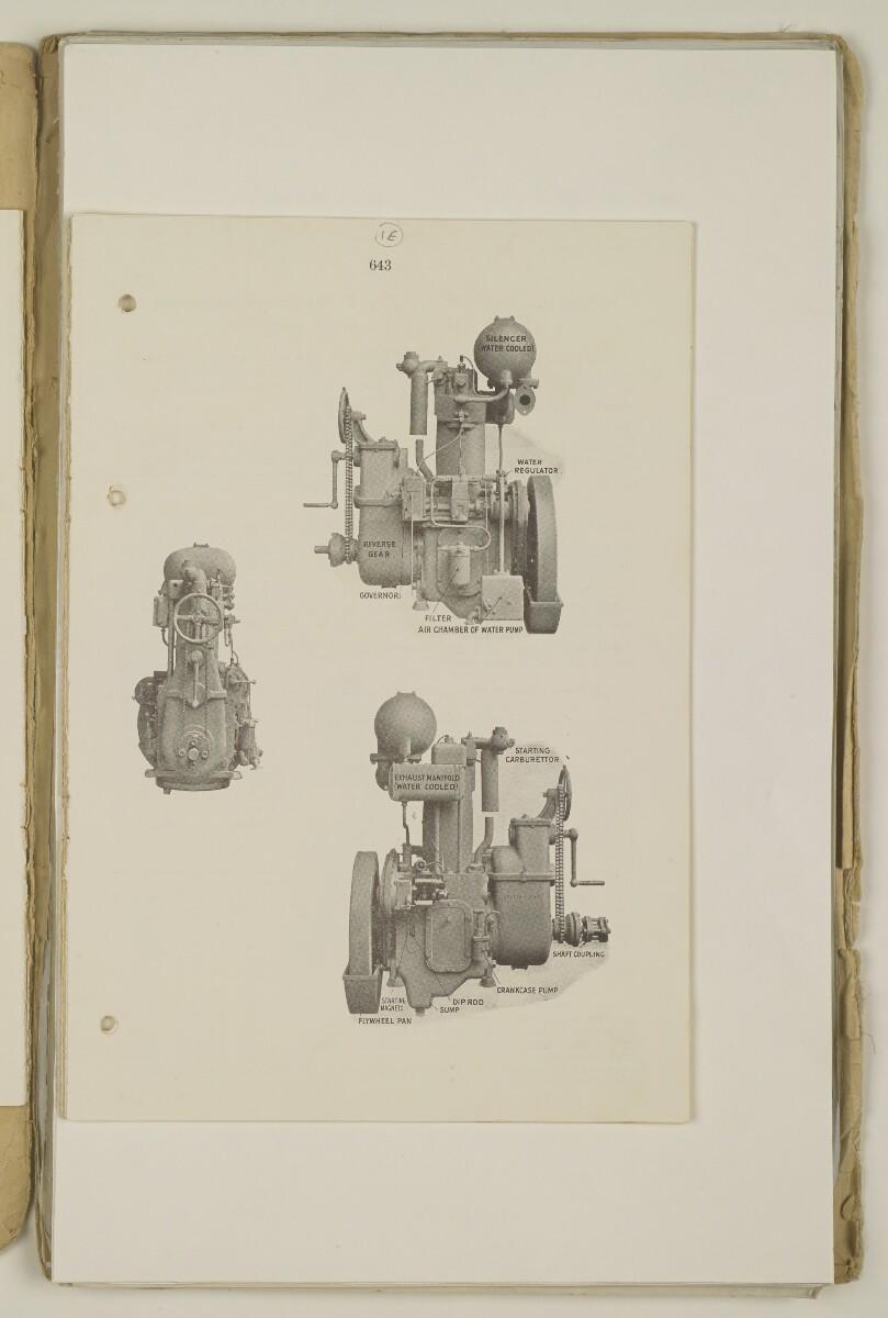 'Sea-going launch for the Political Agent, Bahrain. Corr. re: Kelvin Engine.' [1er] (11/398)