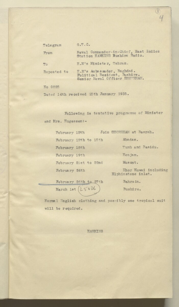 File 12/9 Visits to Bahrain of government officials and others [8r] (20/578)