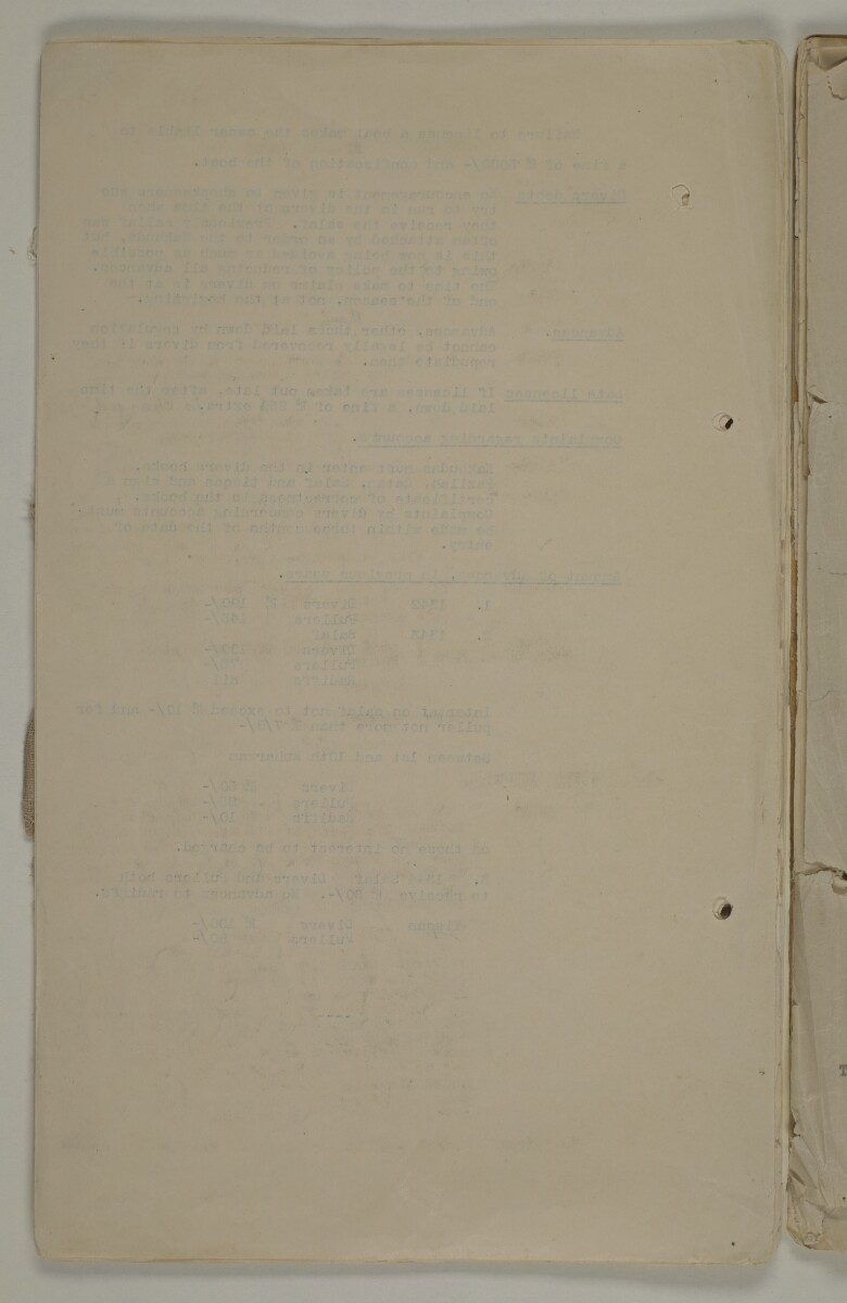 'File 10/6 Pearl diving and pearl trade: Correspondence re:' [9v] (18/44)