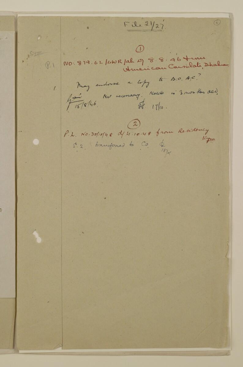 'File 21/27 Notices to Air Men' [5r] (9/14)