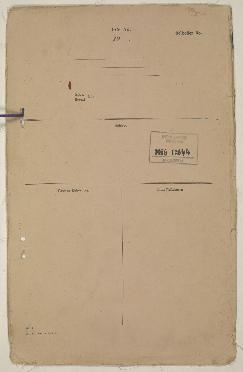 'Flags Flown by the Sheikh of Qatar. (Bahrain and Trucial Coast)' [back-i] (141/142)
