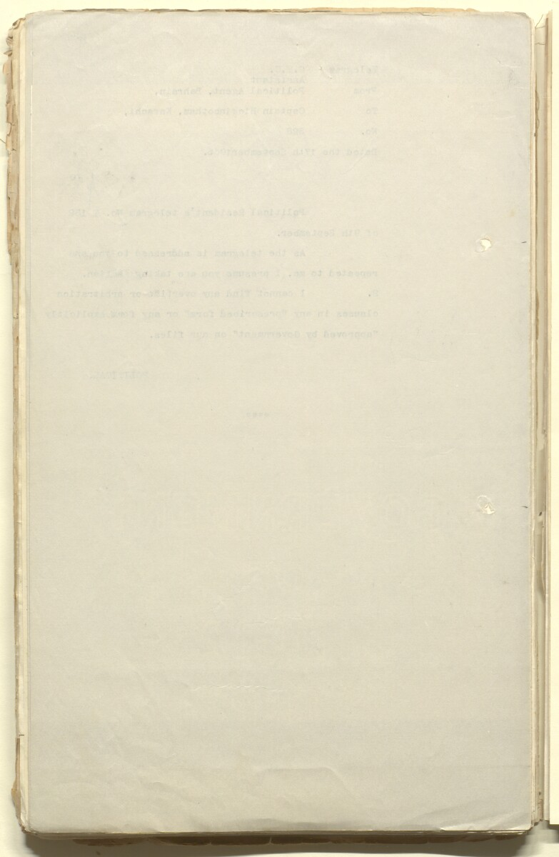 'File 28/14 Labour employed by the Bahrain Petroleum Company Limited, Bahrain' [94v] (189/525)