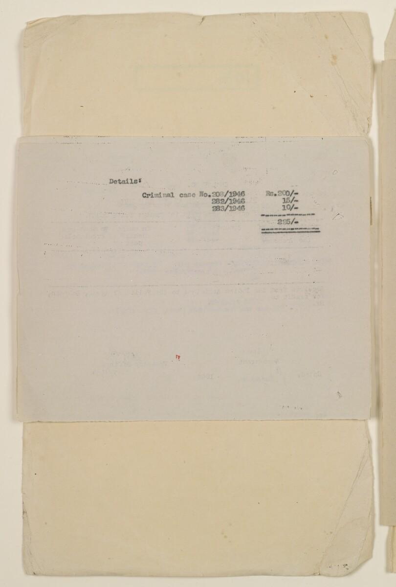 """""""مدفوعات بالنيابة عن مكتب العلاقات العامة في بوشهر وغيره - بيانات المتغيّبين - الحساب النقدي"""" [<span dir=""""ltr"""">ظ٣٠٣</span>] (١٠٩٨/٦١٠)"""