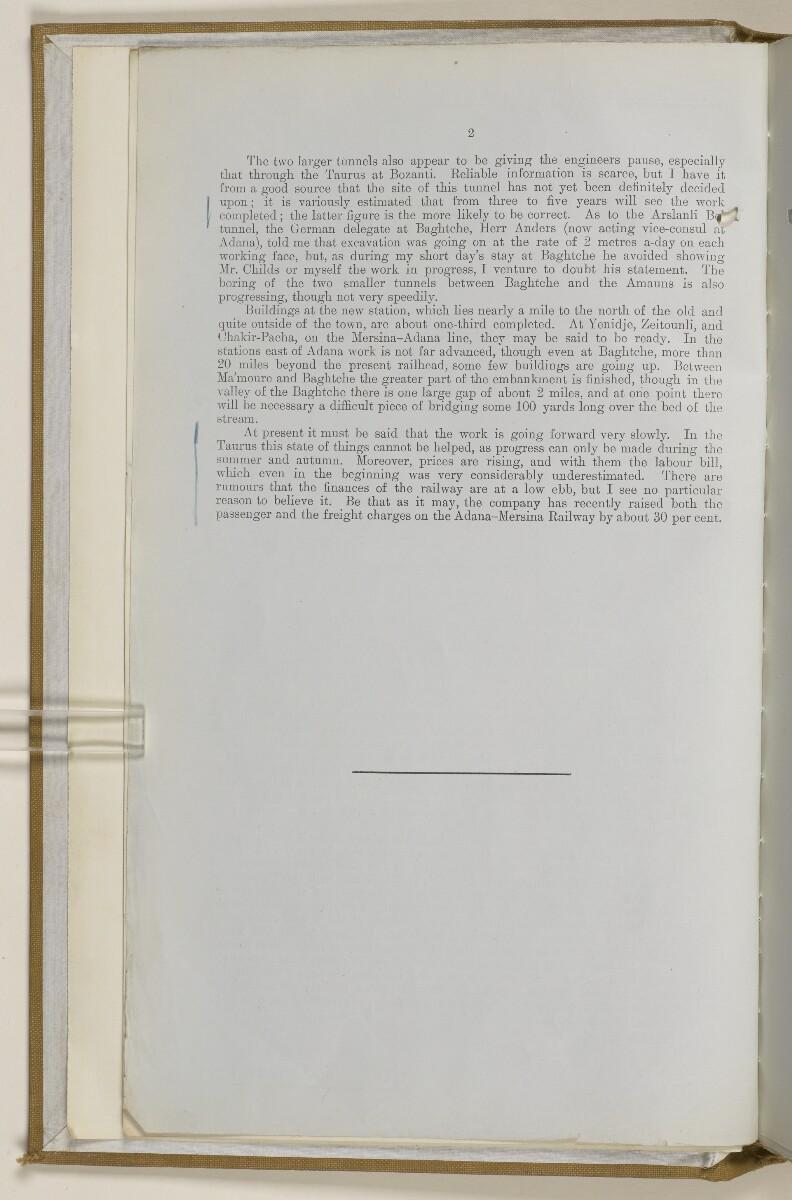 File 2764/1904 Pt 3 'Baghdad Railway: general negotiations 1910-1912.' [3v] (15/544)