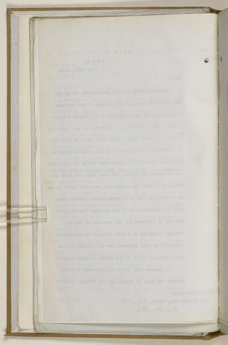 """ملف ١٩٠٤/٢٧٦٤ الجزء ٣ """"سكة حديد بغداد: مفاوضات عامة ١٩١٠-١٩١٢."""" [<span dir=""""ltr"""">ظ١١</span>] (٥٤٤/٣١)"""