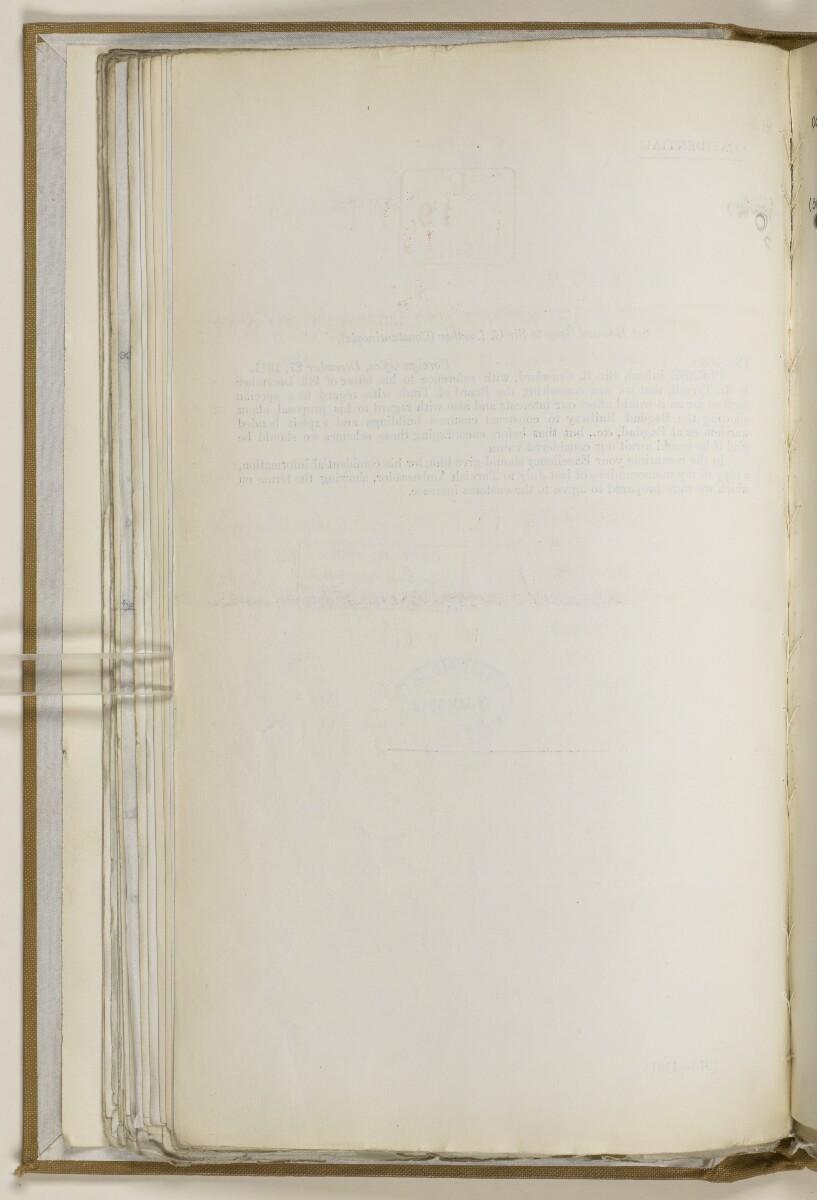 File 2764/1904 Pt 3 'Baghdad Railway: general negotiations 1910-1912.' [69v] (147/544)