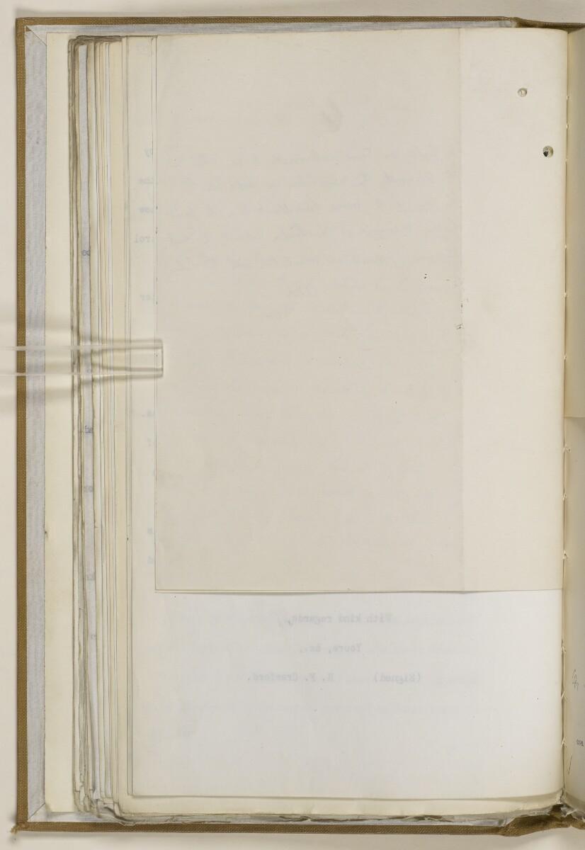File 2764/1904 Pt 3 'Baghdad Railway: general negotiations 1910-1912.' [77v] (163/544)