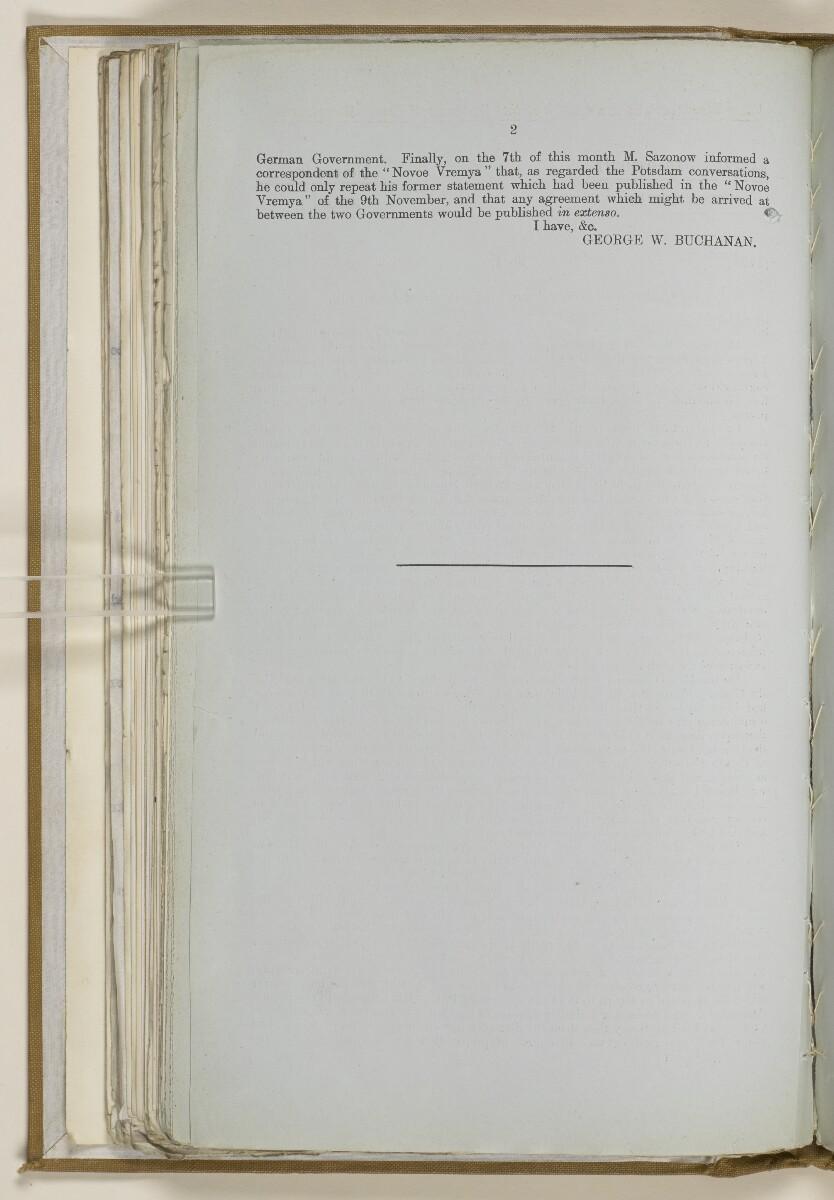 File 2764/1904 Pt 3 'Baghdad Railway: general negotiations 1910-1912.' [118v] (245/544)