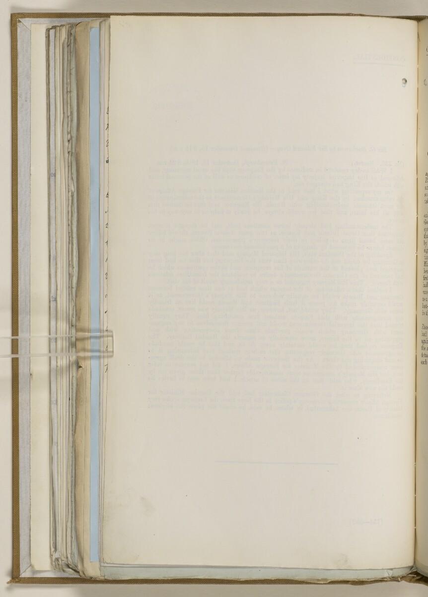 File 2764/1904 Pt 3 'Baghdad Railway: general negotiations 1910-1912.' [163v] (337/544)